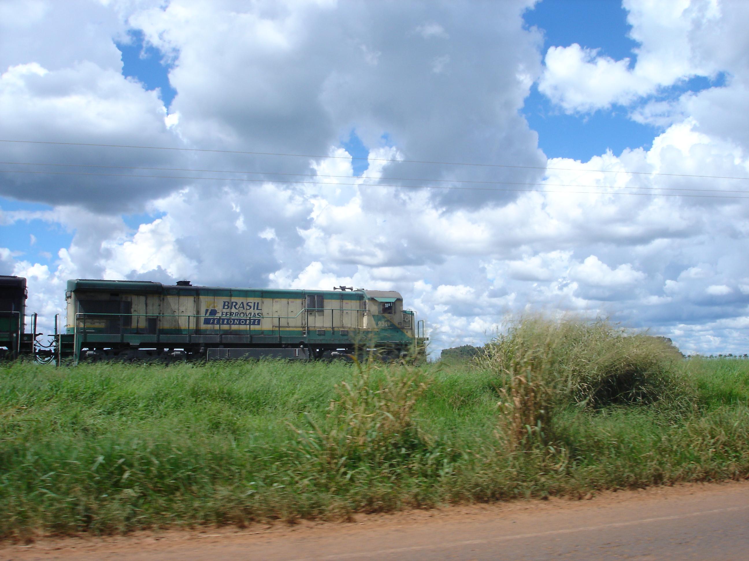 Ferronorte Railroad in Mato Grosso operated by America Latina Logistica (ALL)